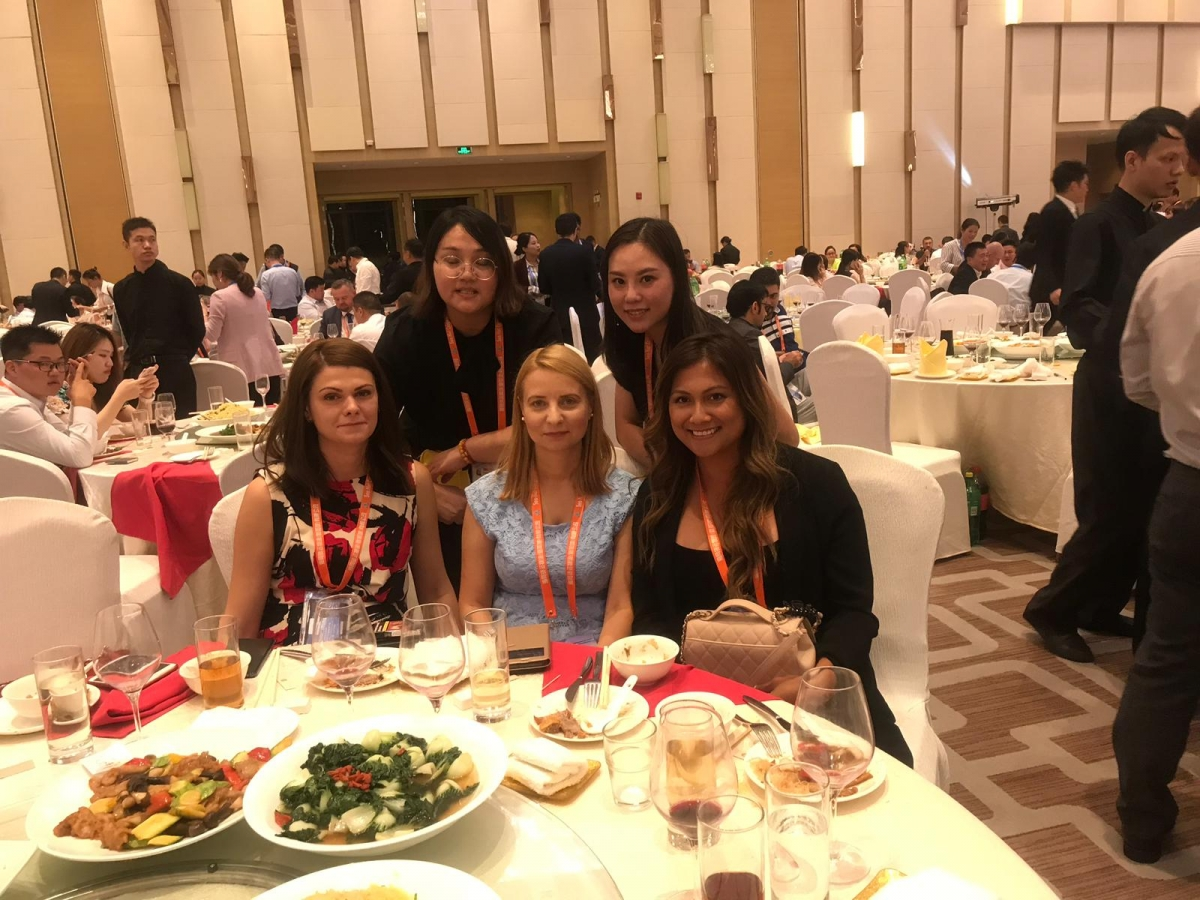 Having good time and good food at JC Trans Conference in Guangzhou, where SRS has been proudly present